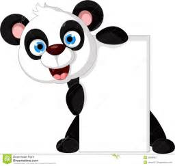Happy Birthday Panda Cartoon