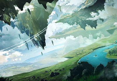 environment concept art  games