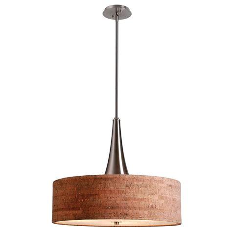 kenroy home lighting kenroy home lighting bulletin brushed steel pendant light