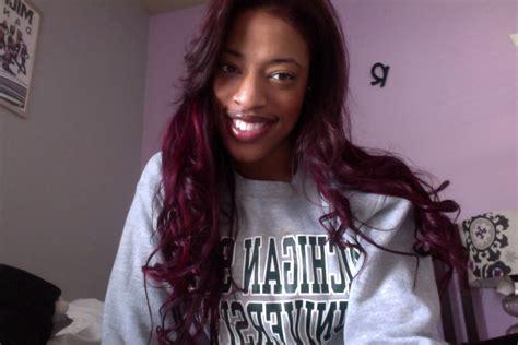 Dying Dark Brown Hair To Dark Red/burgundy Hair