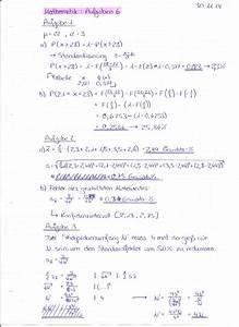 Standardabweichung Berechnen Formel : meine l sungen zu aufgaben 6 mathematik bungen ~ Themetempest.com Abrechnung