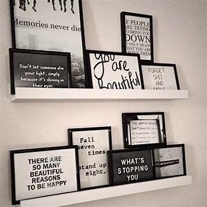 Best framed quotes on farmhouse wall