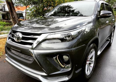 modified toyota 2017 toyota fortuner modified new body kit modifiedx
