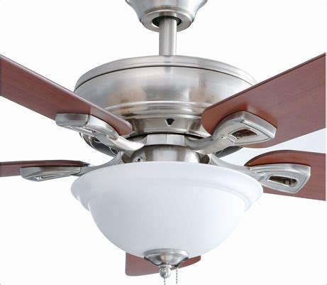 hton bay rothley ceiling fan hton bay rothley 52 in indoor brushed nickel ceiling