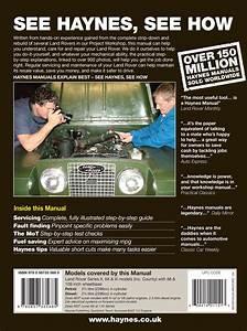 Land Rover Series Ii  Iia  U0026 Iii Petrol  U0026 Diesel  58