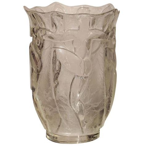 deco glass vase by verrerie degue david gueron