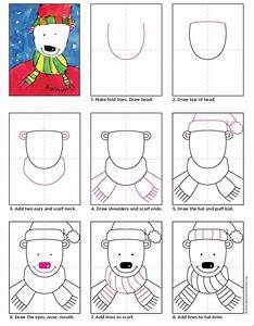 How To Draw A Polar Bear  U2013 Smarty Pants Magazine For Kids