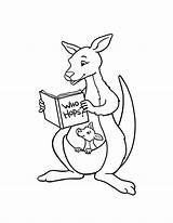 Kangaroo Coloring Printable Kolorowanki Drawing Kangur Sheet Australia Clip Dzieci Dla Australien Pobrania Adults Bestcoloringpagesforkids Ausmalbilder Stick Dulemba Library January sketch template