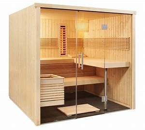 Sauna Mit Glasfront : elementsauna standard schreiner straub wellness wohnen ~ Whattoseeinmadrid.com Haus und Dekorationen