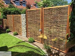 Garten Sichtschutz Holz : sichtschutz holz garten gunstig ~ Whattoseeinmadrid.com Haus und Dekorationen