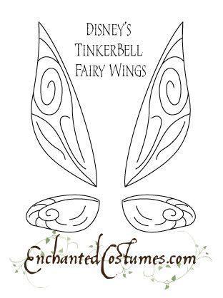 Tinkerbell Template Felt by 17 Best Ideas About Fairy Templates On Pinterest Fairy
