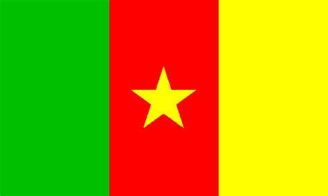 Cameroon Flag, Flag of Cameroon National Flag Cameroon Map ...