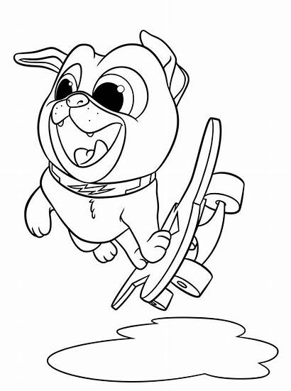 Coloring Puppy Dog Pages Printable Pals Bingo