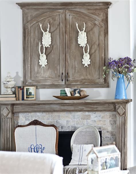 how to decorate the top of my kitchen cabinets the best ways to decorate a mantel cedar hill farmhouse 9894