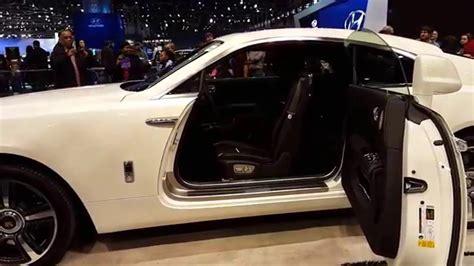 rolls royce 2016 interior 2016 rolls royce wraith exterior interior walkaround 2016