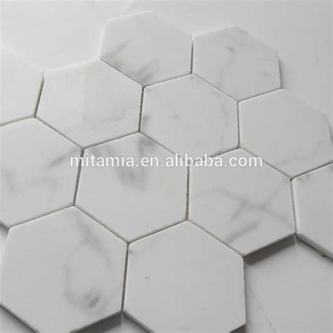 Large Marble Hexagon Floor Tile by Big Chip Hexagon Marble Mosaic Floor Tile Buy Hexagon