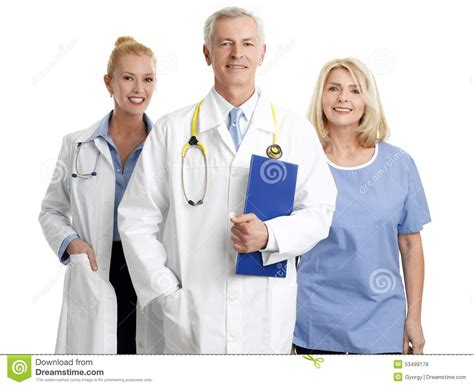 medical staff stock photo image