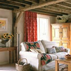 Country Livingrooms Walls And Exposed Beams Housetohome Co Uk