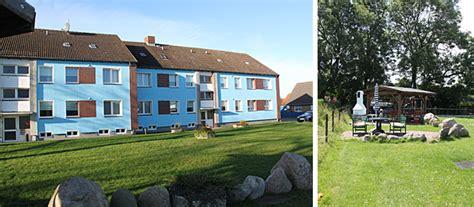 Unsere Ferienanlage Haus Marinus  Fehmarn Ferienwohnungen