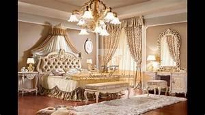 luxury classic italian furniture bedroom - YouTube  Italian