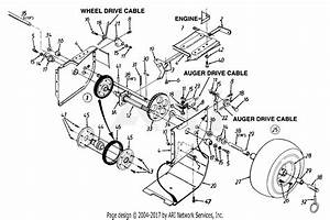 Mtd 315e646f190 Snow Boss 850  1995  Parts Diagram For Snow Thrower
