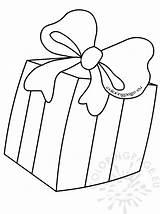 Coloring Gift Bow Present Printable Getdrawings Drawing Getcolorings Coloringpage Eu sketch template