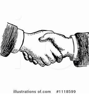 Handshake clipart - Clipground