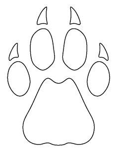 9 Unique Photograph Of Cheetah Outline Printable Best Pin By Muse Printables On Printable Patterns At