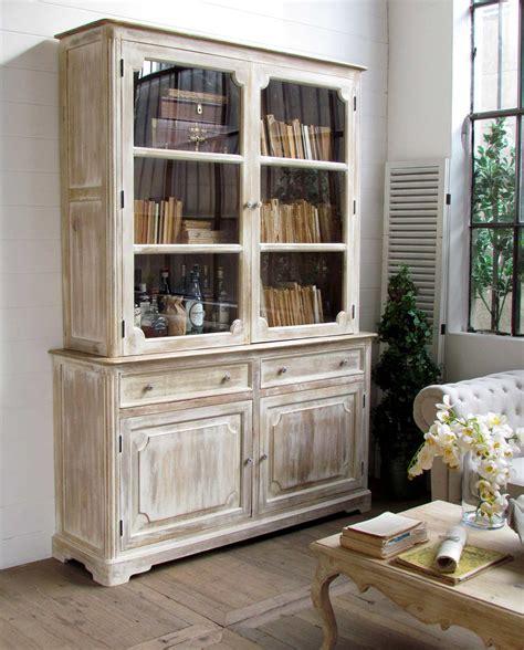 vetrina credenza credenza vetrina shabby chic legno di mango mobilia