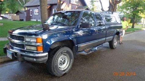 manual repair autos 1996 chevrolet g series 2500 regenerative braking buy used 1996 chevy ck 2500 4 x 4 6 5 liter diesel turbo silverado in kerkhoven minnesota