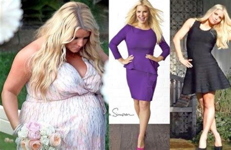 Jessica Simpson Weight Loss Transformation