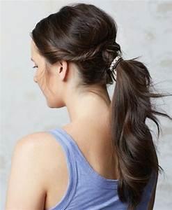 Coiffure Queue De Cheval : coiffures queue de cheval originale coiffure femme avec ~ Melissatoandfro.com Idées de Décoration