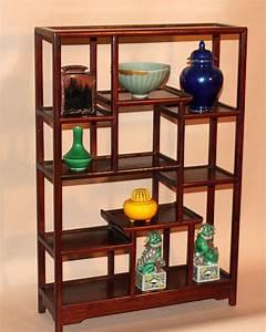 Vintage, Chinese, Rosewood, Table, Top, Display, Shelf, At, 1stdibs