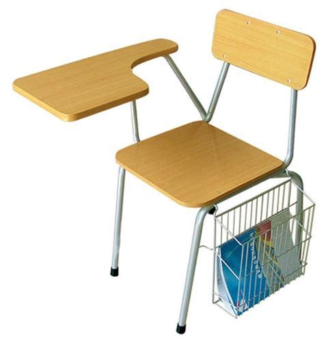 steel classroom furniture desk and chairs for college