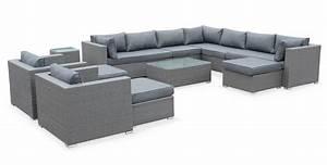 unique mobilier de jardin resine tressee l39idee d39un With lovely table basse de jardin en plastique 4 salon bas de jardin canape fauteuil bas salon de