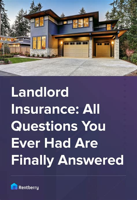 Find affordable landlord insurance rates. Landlord Insurance: All Questions Are Finally Answered   Landlord insurance, Being a landlord ...