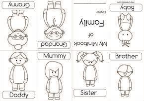 family coloring book google search mini books family