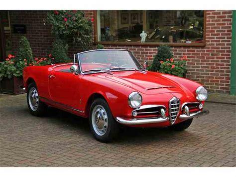 Classic Alfa Romeo For Sale by Classic Alfa Romeo For Sale On Classiccars