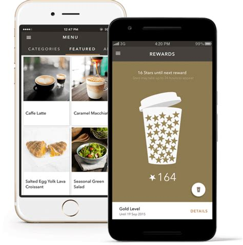 Starbucks Application How To Build A Mobile App For Retail Business