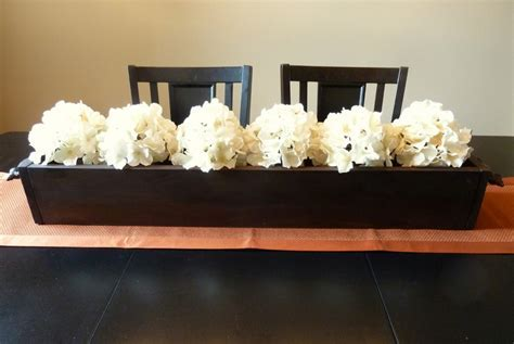 long dining room table centerpiece » Dining room decor