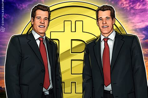They backed bitcoin, and the decision paid off. Winklevoss Twins' Bitcoin Investment Already Worth More Than $1 Billion