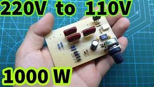 220v To 110v Without Transformer