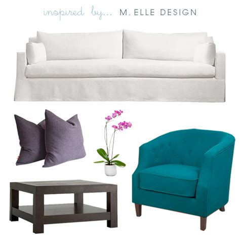 Peacock Blue Loveseat by Bryn Alexandra Inspiring Spaces A Peacock Blue Sofa