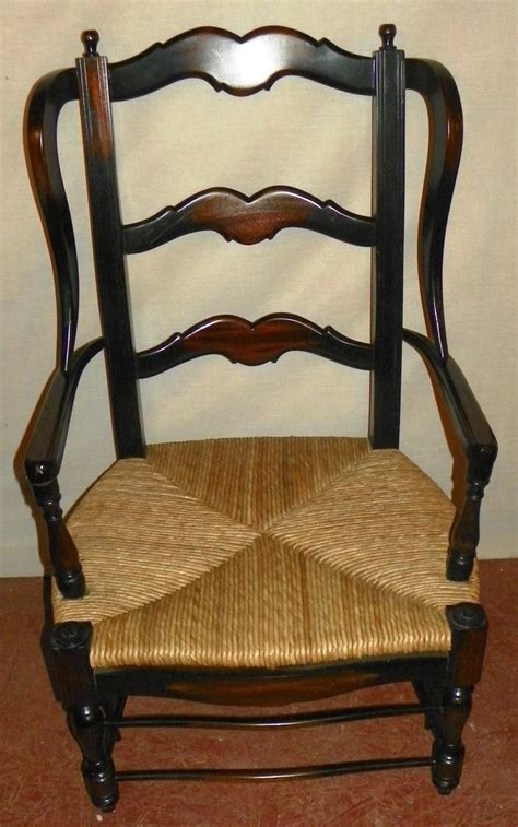 ladder back wing back bottom chair