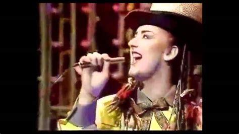 Culture Club Karma Chameleon Live (t0tp) Youtube