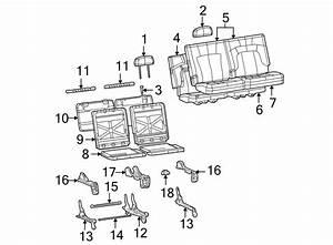 Gmc Envoy Xuv Seat Latch Cover  W  Long Wheel Base  W  0