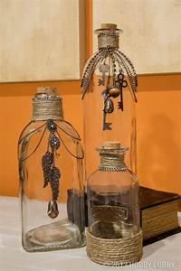 Basteln Mit Glasflaschen : dekoflaschen glasflaschen einmachgl ser basteleien und ~ Watch28wear.com Haus und Dekorationen