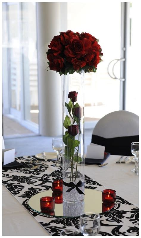 black white table centerpieces 186 best images about my dream wedding black white and red on pinterest
