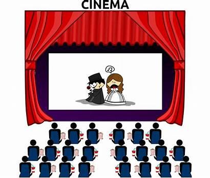 Cinema Clipart Svg Sign