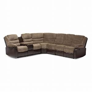 baxton studio robinson modern and contemporary brown towel With brown 2 piece sectional sofa